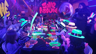 glow party  place