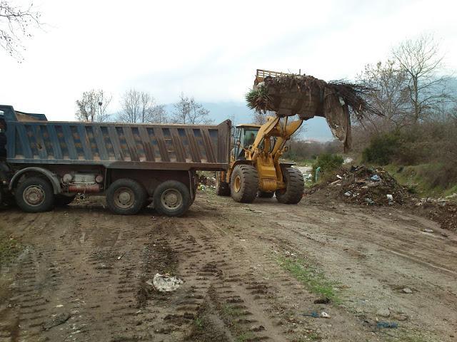 Θεσπρωτία: Καθαρίστηκαν τάφροι και χείμαρροι στη Θεσπρωτία
