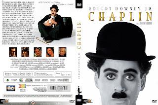 Carátula dvd - Chaplin 1992 / DescargaCineClasico.Net