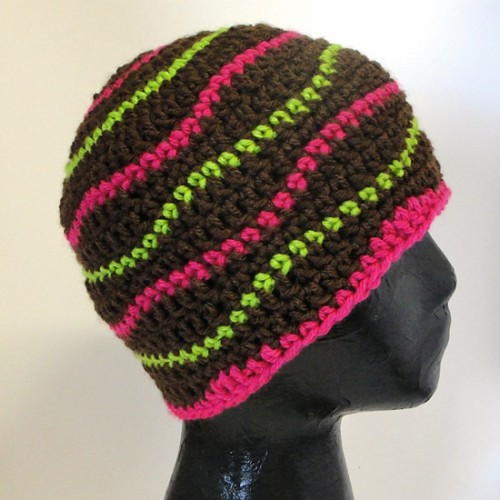 Brain Waves Beanie - Free Pattern