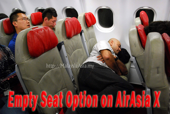 Airasia X Empty Seat Option