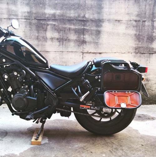 Suspesnsion honda Rebel CMX500