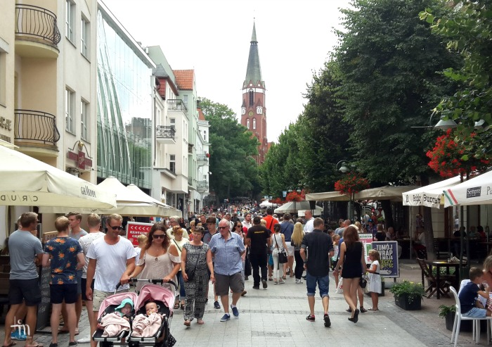 The Long Street in Sopot