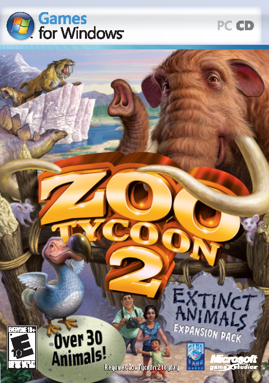 Zoo Tycoon 2 Extinct Animals PC Full Español ISO