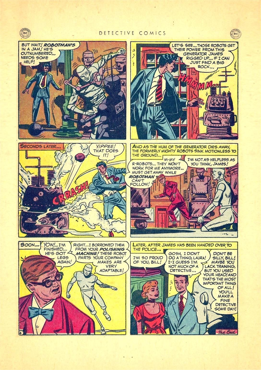 Read online Detective Comics (1937) comic -  Issue #166 - 32