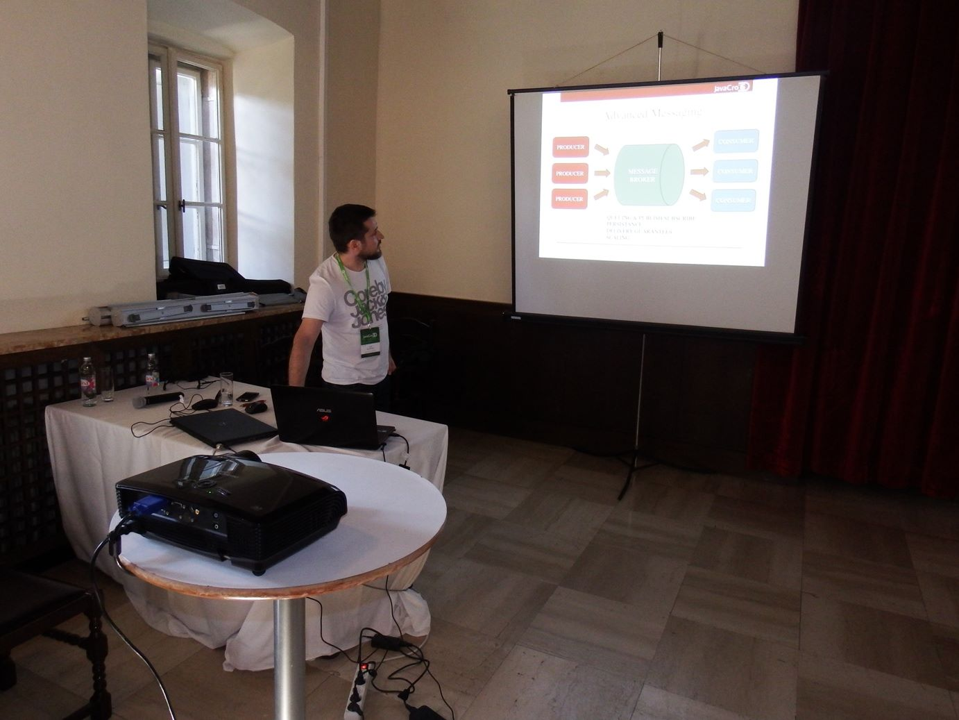 Kafka demo at JavaCro 2016 conference