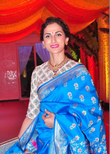 Shilpa Reddy in Traditional Saree