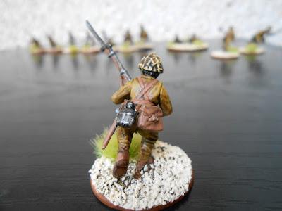 bolt action soldado japonés andando