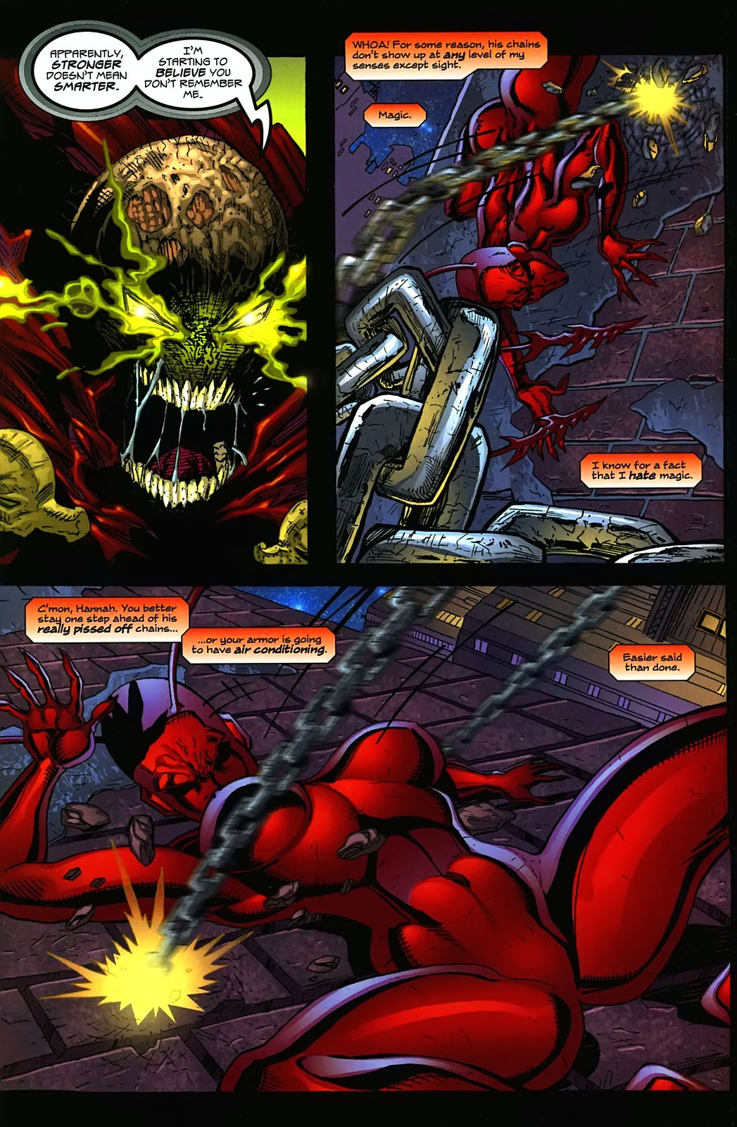 Read online Ant comic -  Issue #3 - 7