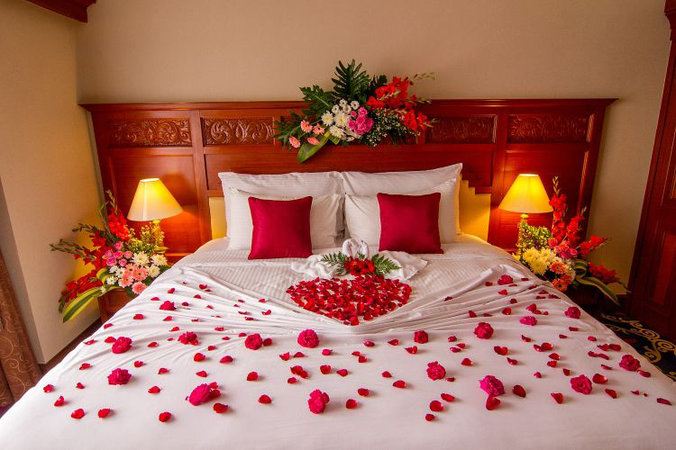 Bedroom design ideas for Wedding room decoration ideas