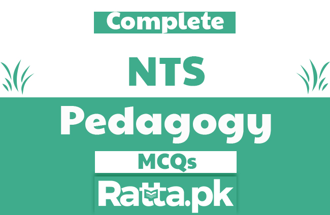 NTS Pedagogy MCQs with Answers pdf Download