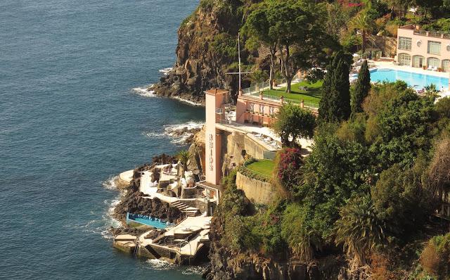 Belmond Reid's Palace sea access