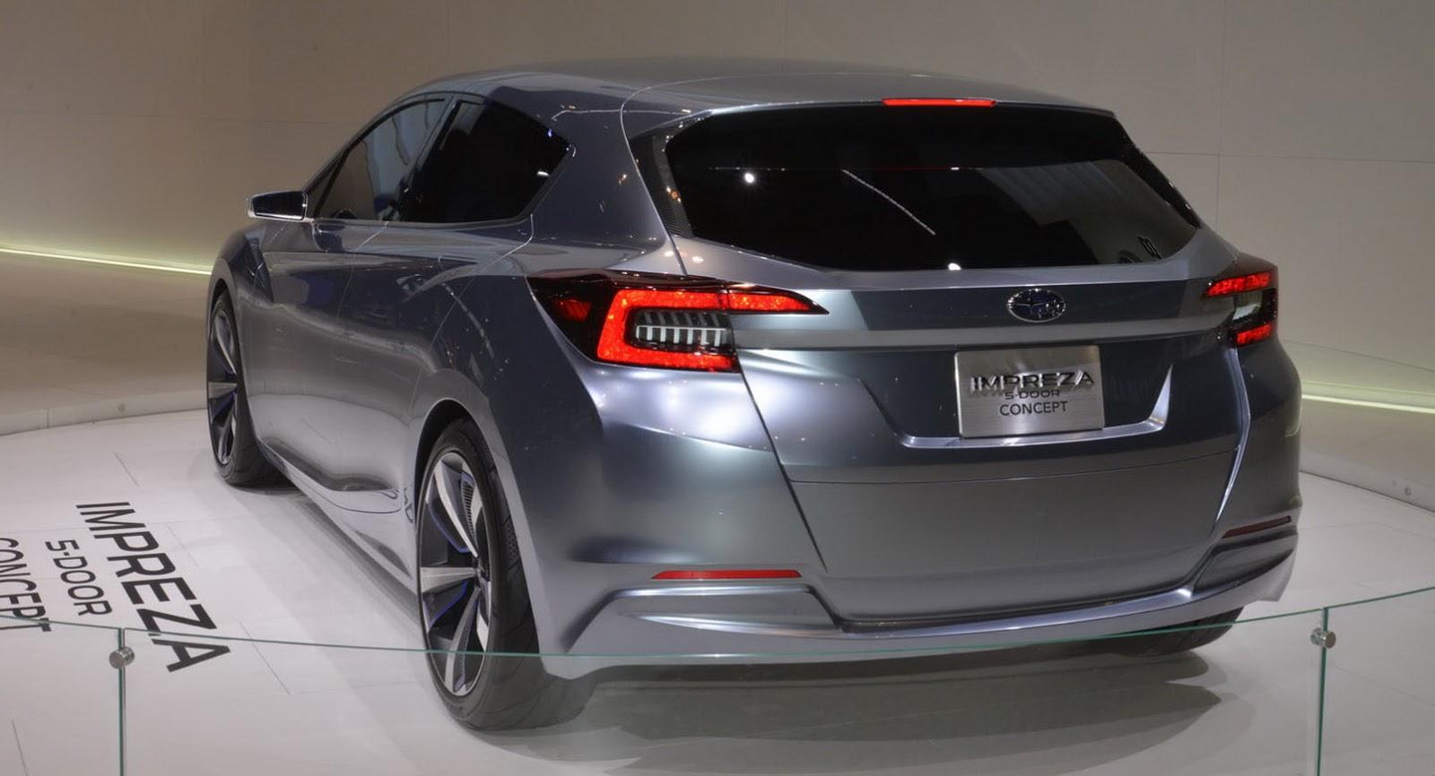 Moment Of Truth 2017 Subaru Impreza Production Vs Concept