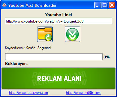 Youtube Mp3 Çevirici - İndirici