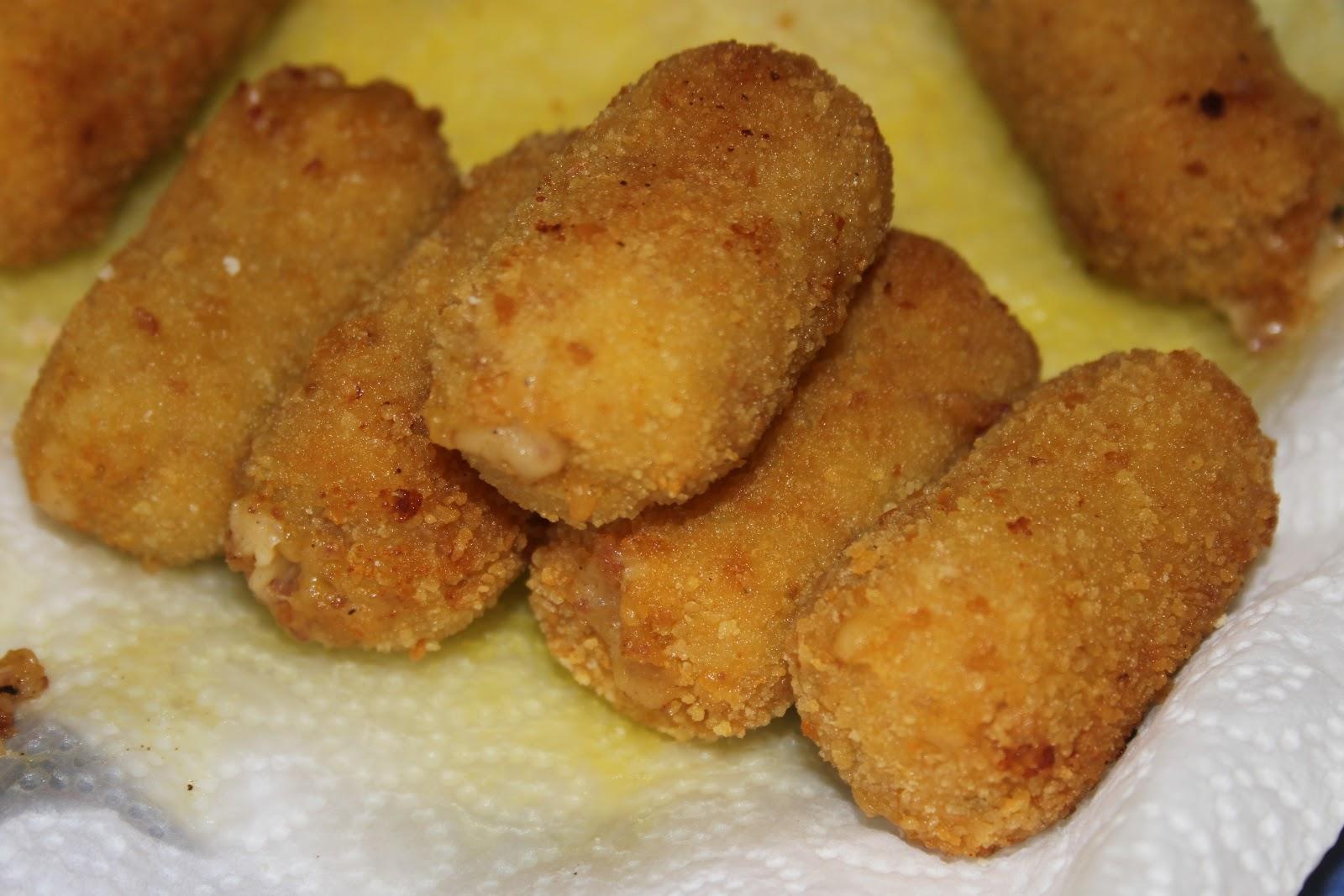 Croquette De Jambon Au Four croquettes de jambon serrano - la cuisine de bernard