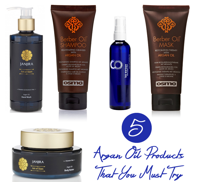 5 Argan Oil Products That You Must Try