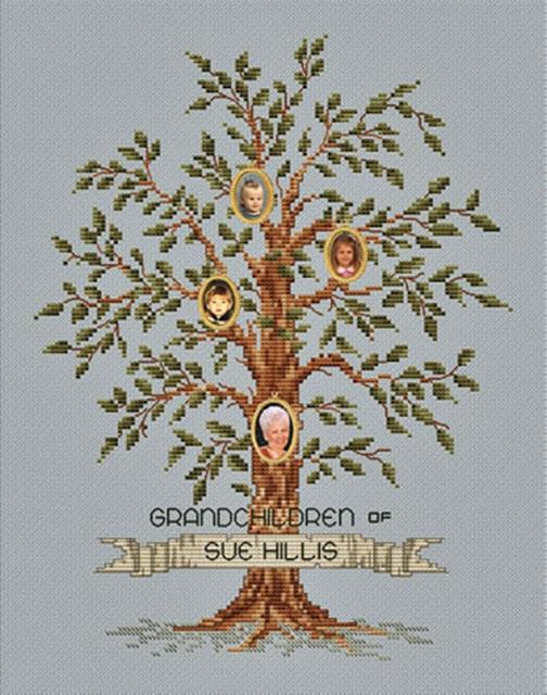haftowane drzewko genealogiczne