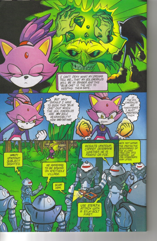 Read online Sonic The Hedgehog comic -  Issue #160 - 26