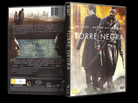 Capa DVD A Torre Negra (Oficial)