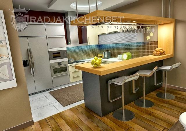 Kitchen Set Mewah Pada Apartemen Mewah Radja Kitchen Set 0813