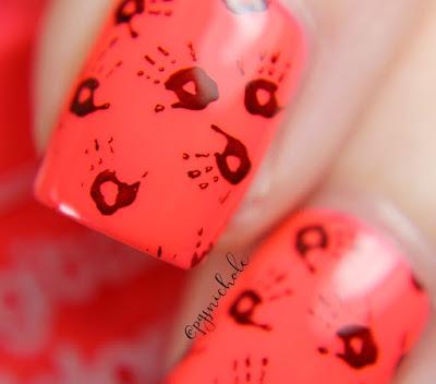 Digital Nails Melonade • Grabby Hands | Creme a la Mode Box #4 • Summer 2016