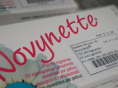 Efeitos secundários da pílula novynette®