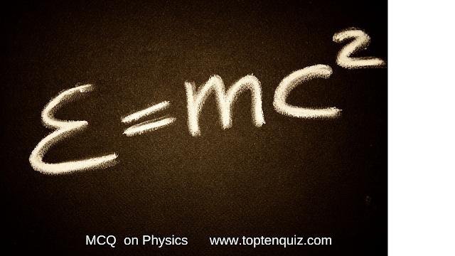 Physics MCQ on Units (Set 1)
