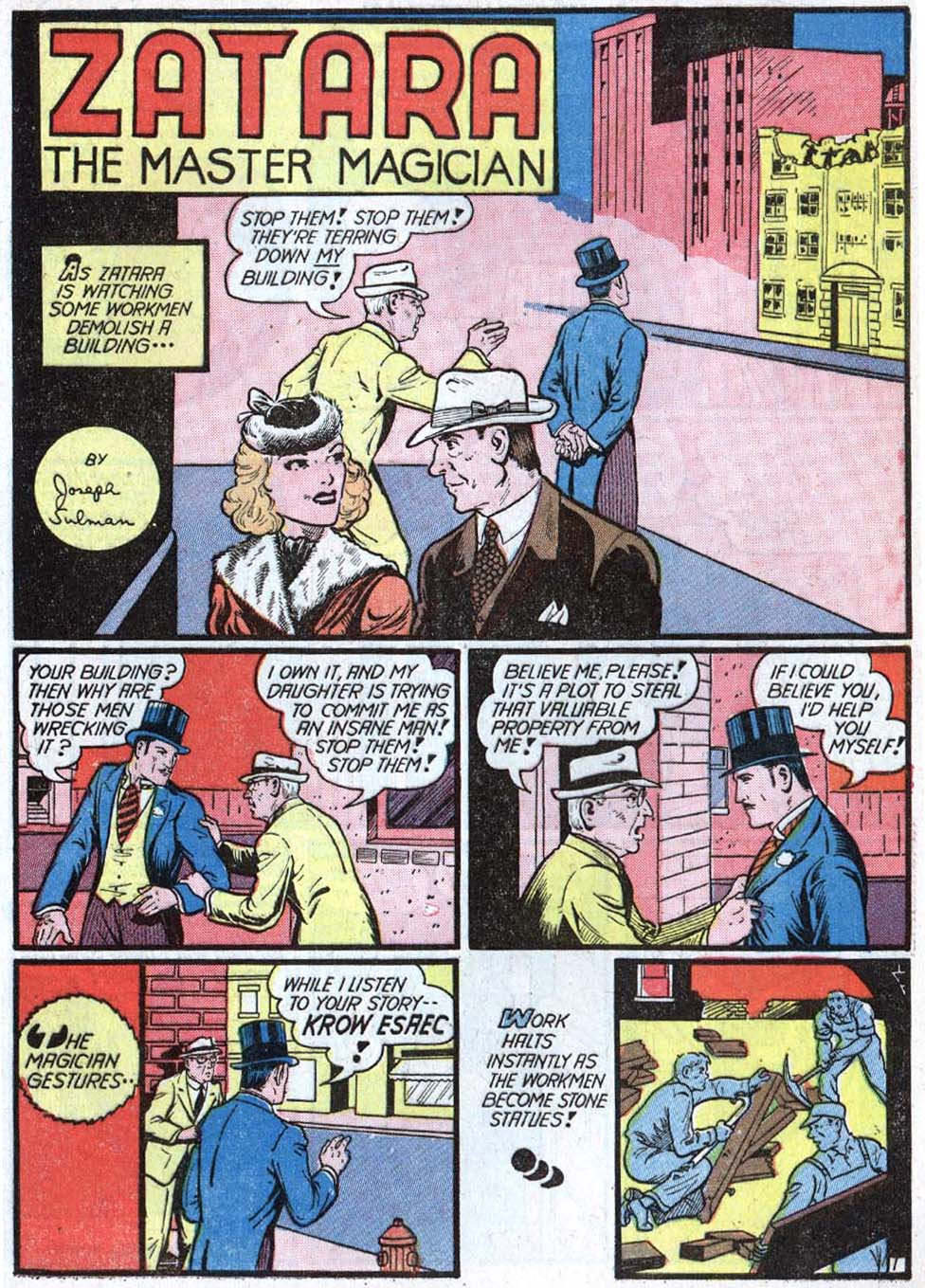 Read online Action Comics (1938) comic -  Issue #40 - 57