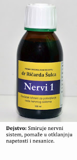 Nervi 1 (tinktura za smirenje)