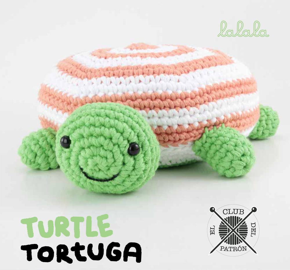 El blog de Dmc: El Club del Patrón: Tortuga de amigurumi de Lalala Toys