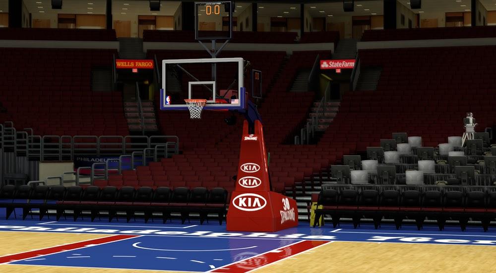 Nba 2k14 Philadelphia 76ers Court Update Nba2k Org