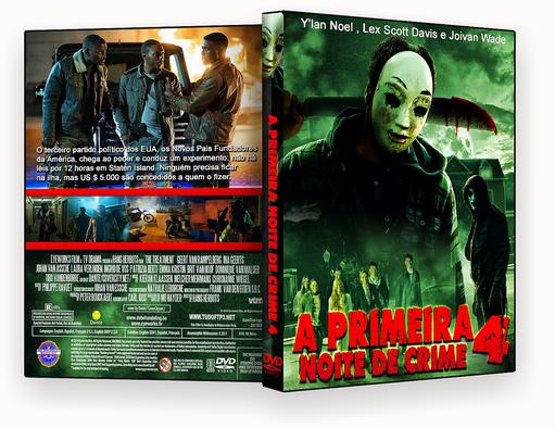 CAPA DVD – A Primeira Noite de Crime 2018 – DVD-R