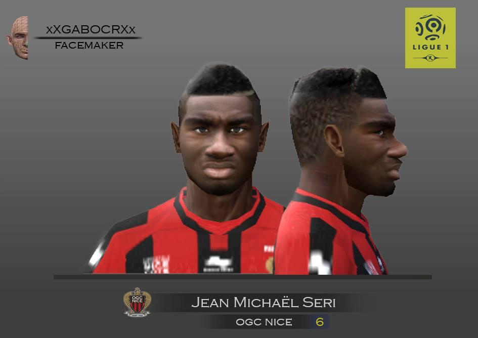 a3909ef0c40 ultigamerz  PES 6 Jean Michaël Seri (OGC Nice) Face