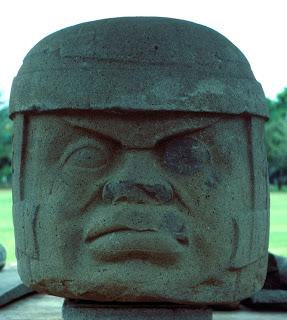 Olmec Stone Head - Tres Zapotes Monument A