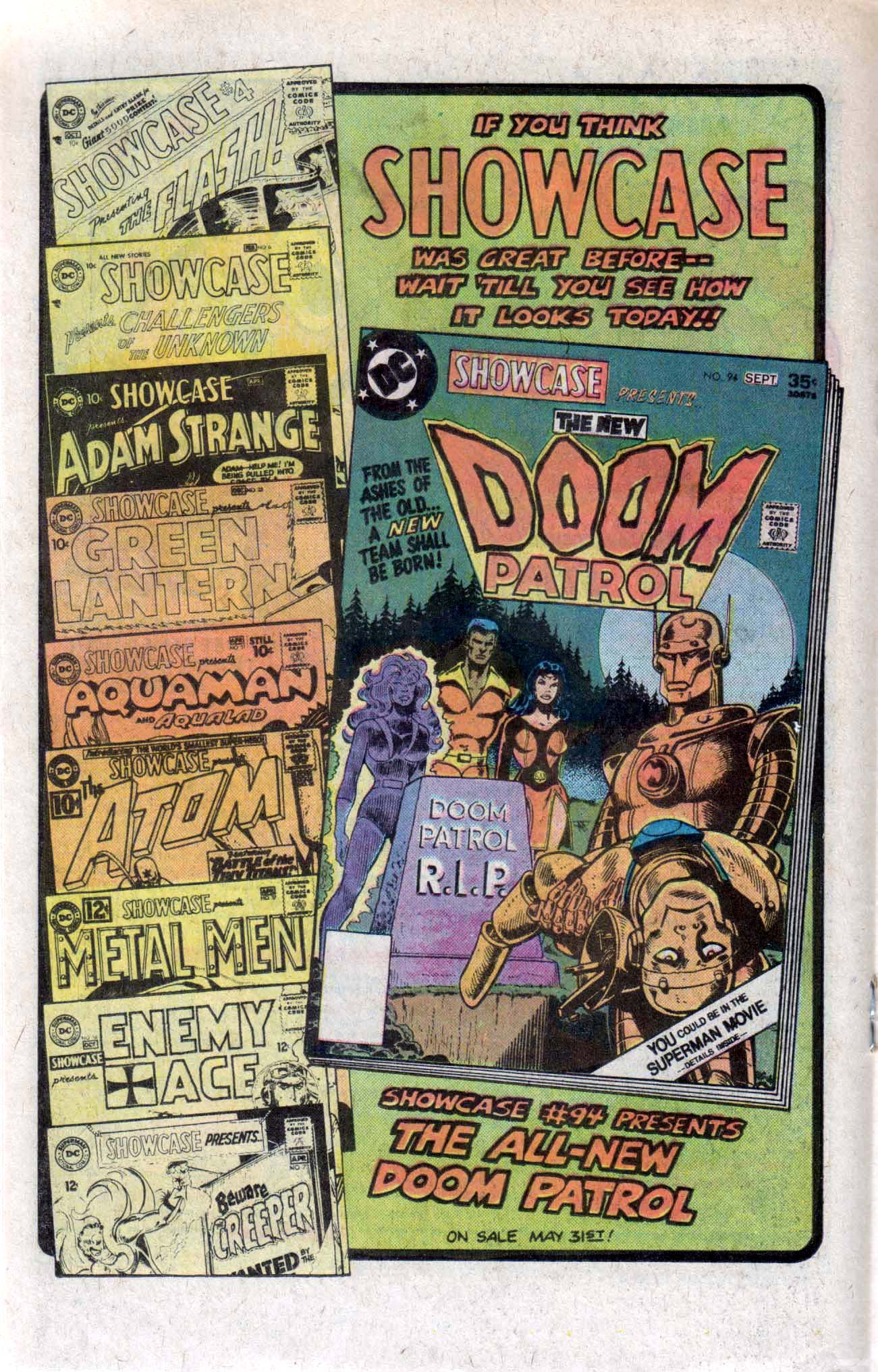 Read online Showcase comic -  Issue #94 - 21