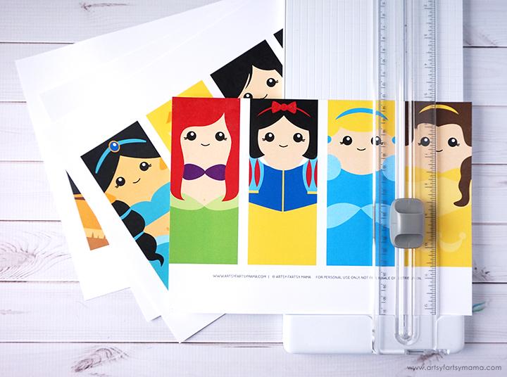 Free Printable Ultimate Disney Princess Bookmark Set