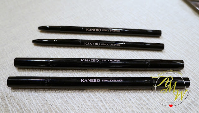 a photo of Kanebo Dual Eyeliner (Pencil and Liquid)    Kanebo Pencil Eyebrow