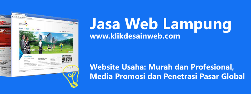 jasa web lampung, jasa website lampung, jasa pembuatan website lampung