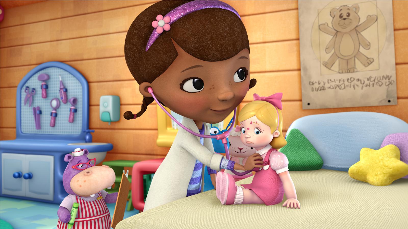 Doc Mcstuffins Disney Junior Animation Cartoon HD