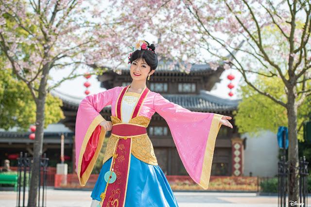 #DisneyMagicMoments, 米奇與好友 一起在 上海迪士尼 賞櫻, SHDL, Shanghai Disneyland, 迪士尼公主, Disney Princess
