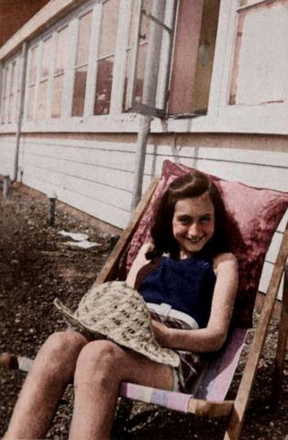 Anne Frank, 1939, Women color photos worldwartwo.filminspector.com