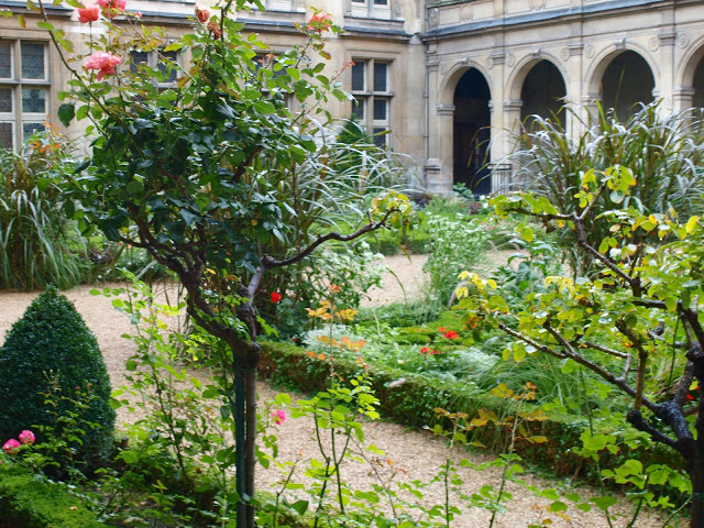 image result for Musee Carnavalet gorgeous gardens photo by Michele of Hello Lovely