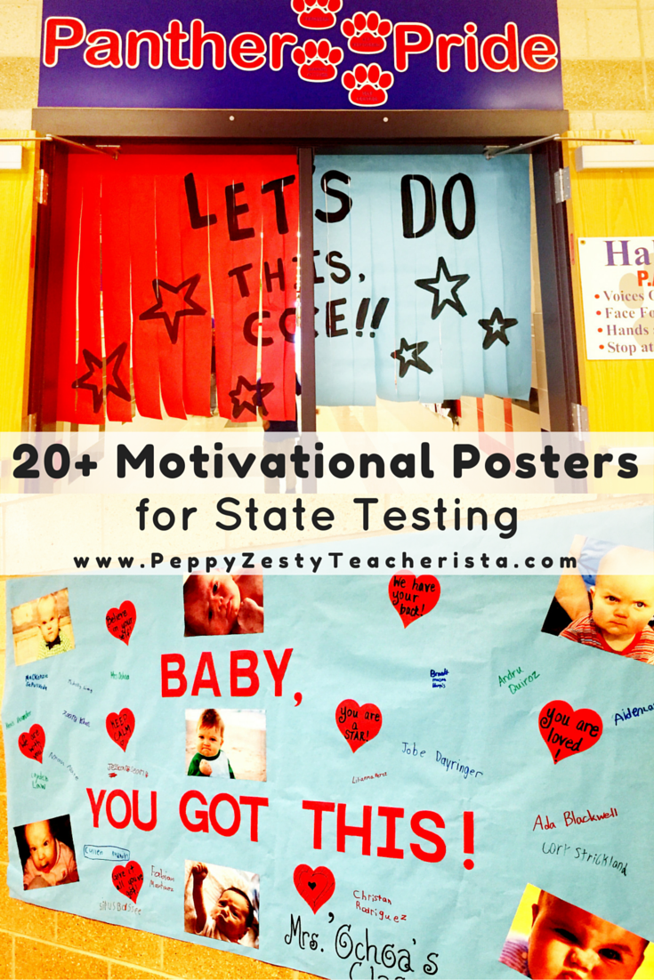 Boost Student Moral With Motivational Posters For State