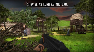 Download Gratis The Last Commando II Mod Apk v1.3 (Unlimited money+Ammo+Healt) terbaru