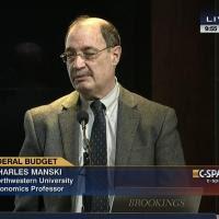 charles manski on CPAN 2010s