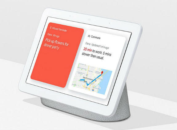 Google Home Hub muscles up to Amazon's Echo Show