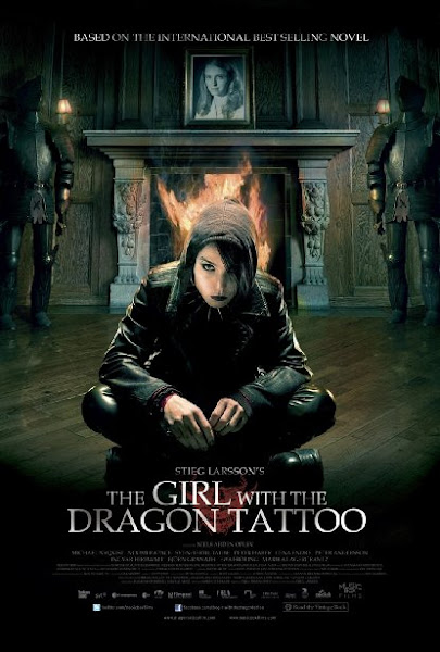 Poster Of The Girl With The Dragon Tattoo 2009 UnRated 720p Hindi BRRip Dual Audio Download