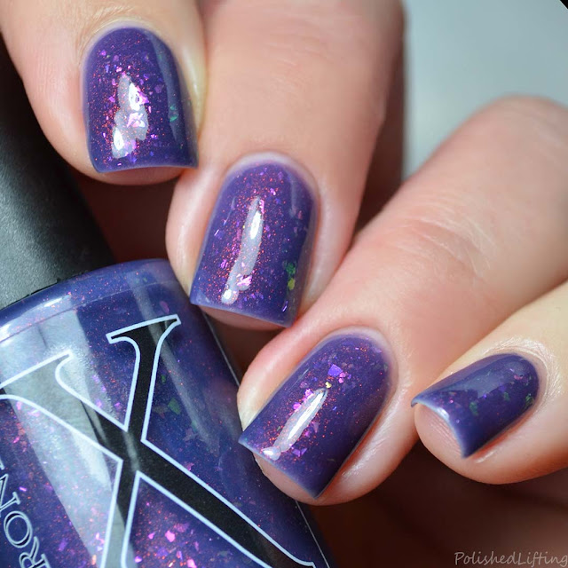 purple thermal unicorn pee polish