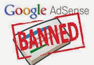 bolehkah memasang iklan adsense pada blog yang akun adsensenya di banned
