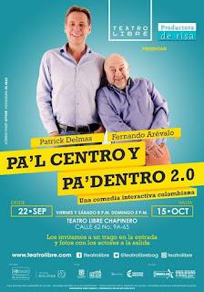 PA´L CENTRO Y PA´ DENTRO 2.0: Una comedia interactiva